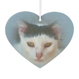 Black and White Cat, Customizable Air Freshener