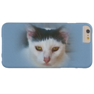 Black and White Cat, Customizable Barely There iPhone 6 Plus Case