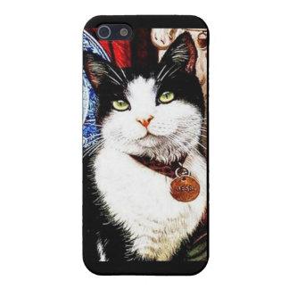 Black and White Cat Design Case