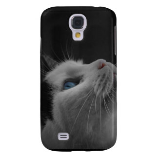 Black and White Cat Samsung Galaxy S4 Cover
