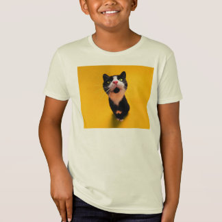 Black and white cat-tuxedo cat-pet kitten-pet cat T-Shirt