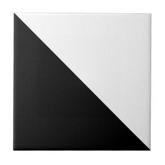 Black and White Ceramic Tile