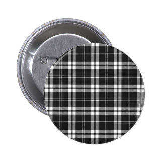 Black And White Check Button