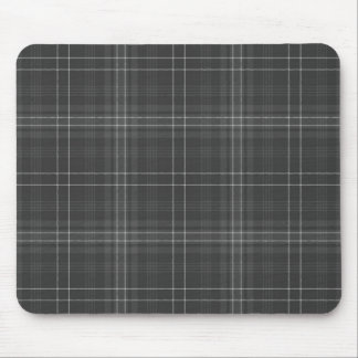Black and White Check Mousepad