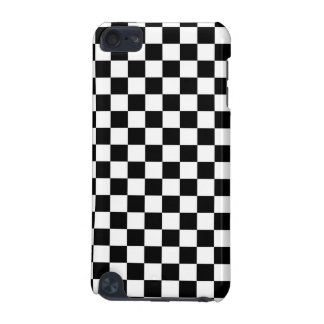 Black and White Check pattern iPod Touch (5th Generation) Cases
