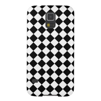 Black and White Check pattern Case For Galaxy S5