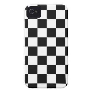 Black and White Checker Board Patterns Case-Mate iPhone 4 Case