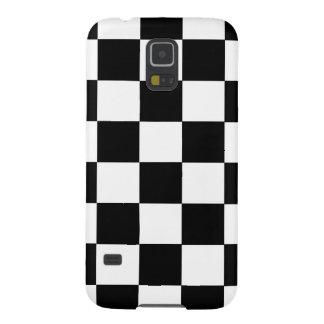 Black And White Checker Galaxy S5 Case