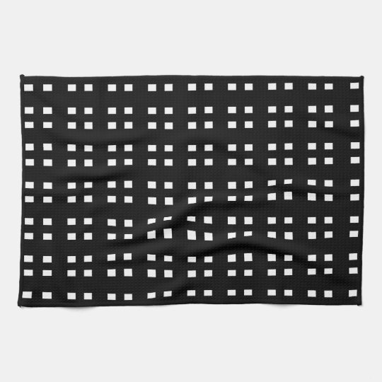Black And White Checkered Kitchen Towels