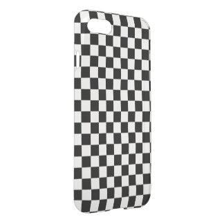 Black and white checker pattern iPhone 8/7 case