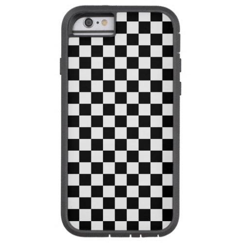 Black and White Checkerboard Phone Case