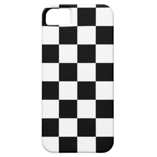 Black and White Checkerboard iPhone 5 Case Mate