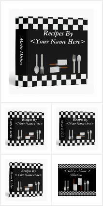 Black and White Checkerboard Kitchen Collection