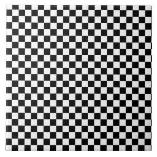 checkerboard ceramic tiles zazzle. Black Bedroom Furniture Sets. Home Design Ideas