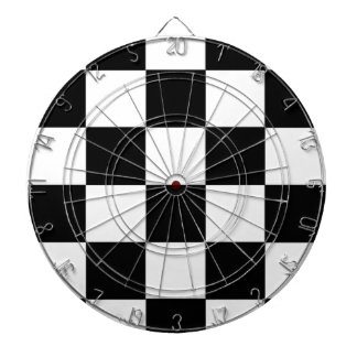 Black And White Checkered Dart Boards
