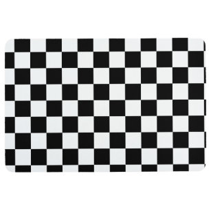 Black And White Checkered Floor Mat Kitchen