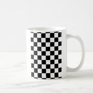 Black and White Checkered Pattern Gifts Coffee Mug