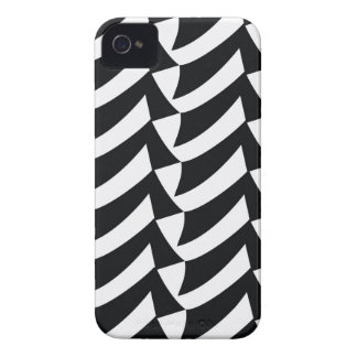 Black and White Checks iPhone 4 Cases
