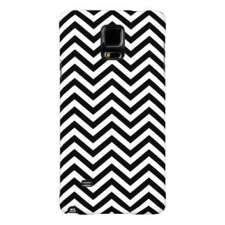 Black and White Chevron Galaxy Note 4 Case