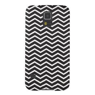 Black and white Chevron Galaxy S5 Case