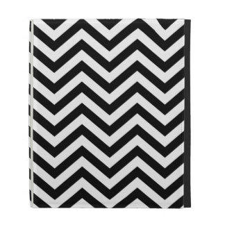 Black and White Chevron iPad Case