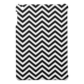 Black and White Chevron iPad Mini Case