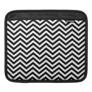 Black and White Chevron iPad Sleeve