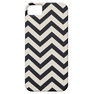 Black and white chevron Print. iPhone SE/5/5s Case