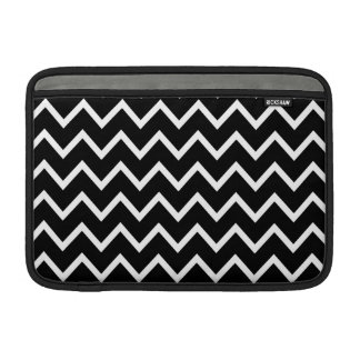Black and White Chevron Sleeve For MacBook Air
