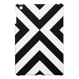 Black and White Chevrons iPad Mini Cover