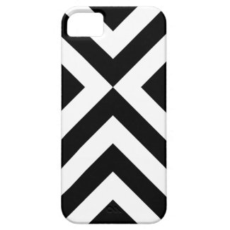 Black and White Chevrons iPhone 5 Covers