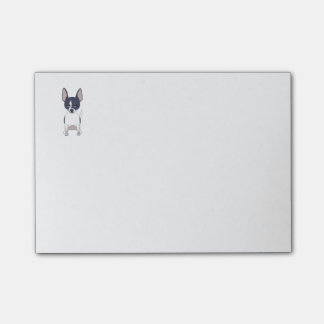 Black and White Chihuahua Post-it® Notes