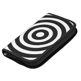 Black and White Circles Folio Planners