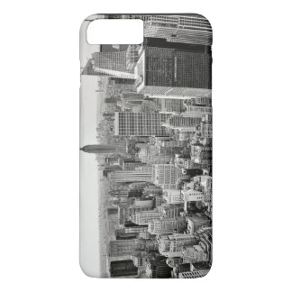 Black and White City iPhone 7 Plus Case