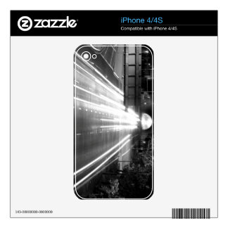 Black And White Cityscape 10 iPhone 4S Skin