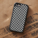 Black And White Classic Checkerboard Tough Xtreme iPhone 6 Case