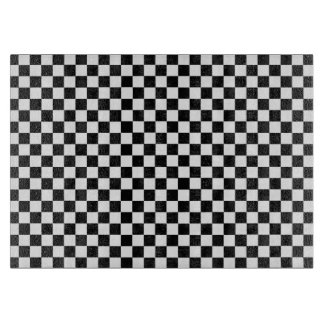 Black And White Classic Checkerboard Cutting Boards