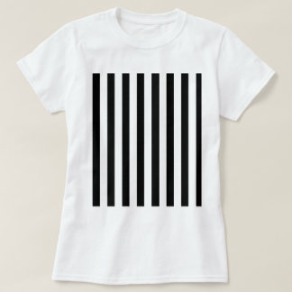 Black And White Vertical Stripes T-Shirts & Shirt Designs ...