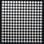 "Black-and-white Cloth Napkin<br><div class=""desc"">Decorative napkin!</div>"