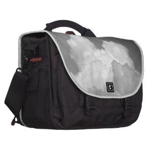 Black And White Cloud 2 Laptop Commuter Bag