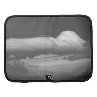 Black And White Cloud 3 Folio Planner
