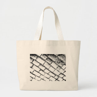 Black and white cobbles bags
