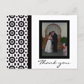 Black and White Collection postcard