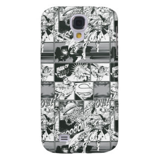 Black and White Comic Pattern Samsung Galaxy S4 Covers