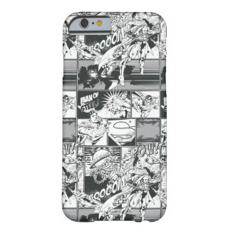 Black and White Comic Pattern Barely There iPhone 6 Case