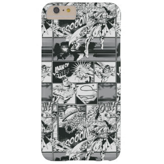 Black and White Comic Pattern Barely There iPhone 6 Plus Case