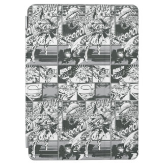 Black and White Comic Pattern iPad Air Cover