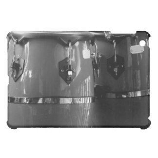 Black and white conga drums photo case for the iPad mini