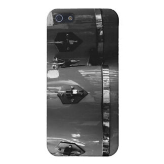 Black and white conga drums photo iPhone SE/5/5s case