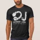 black and white cool music DJ T-Shirt